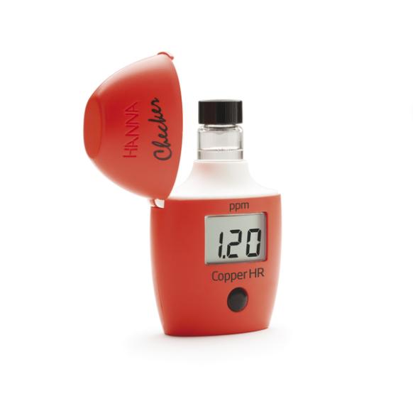 Mini-photomètre Checker® HC cuivre, gamme large HI702