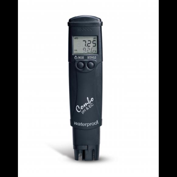 Testeur pH, EC, SDT et température HI98130