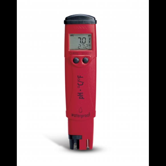 Testeur pH et température étanche HI98127